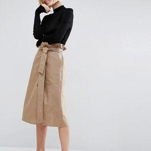 ASOS Paper Bag Skirt